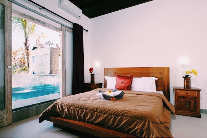 Villa Suari , pool view room 1