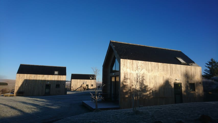Our Bothies are cosy and warm all year round.