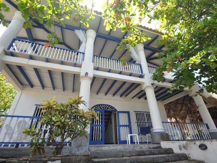 Casa Marazul, unique beachfront home