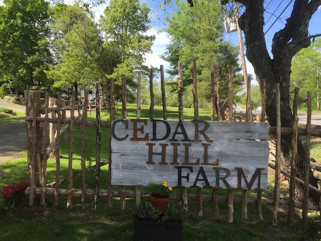 Apartment A at Cedar Hill Farm Bed & Breakfast - Essex - Appartement