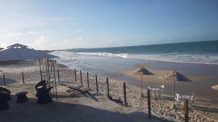Apartamento Triplo Aconchegante na Praia