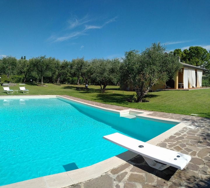 Villa GERTIE, DETACHED, private swpool, views