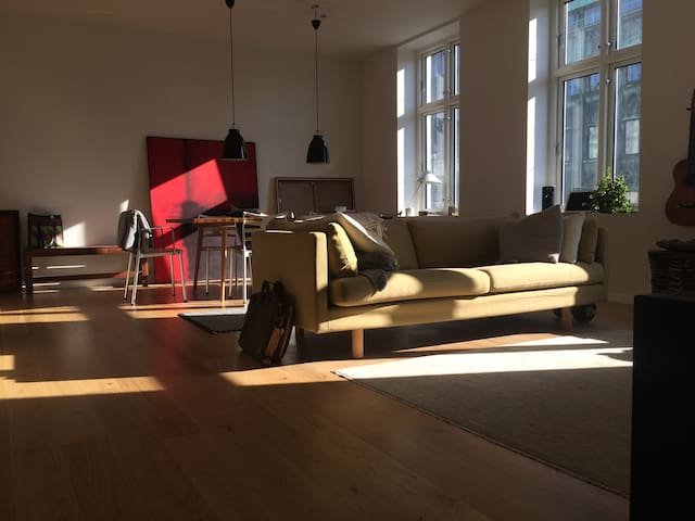 Charming apt. in exclusive location w/ balcony - Kodaň - Byt
