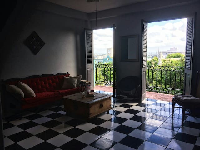 Amazing view and a cozy room - San Juan - Departamento
