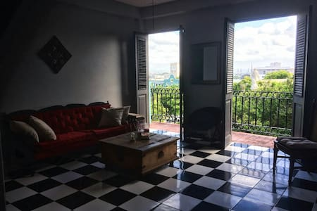 Amazing view and a cozy room - San Juan - Daire