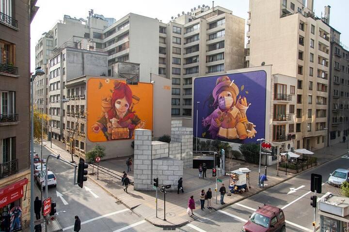 Barrio Lastarria, histórico, turístico p/parejas