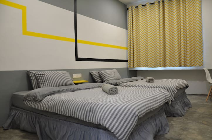 Room 2-2 120cm wide single bed