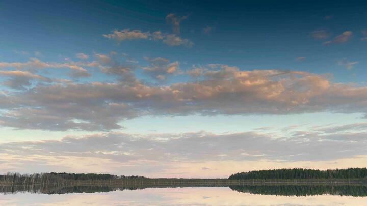 Усадьба на берегу озера