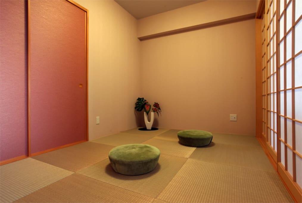 Japanese ryukyu Tatami space