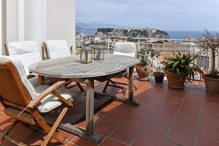 MONACO beautiful apartment - great view - Cap-d'Ail