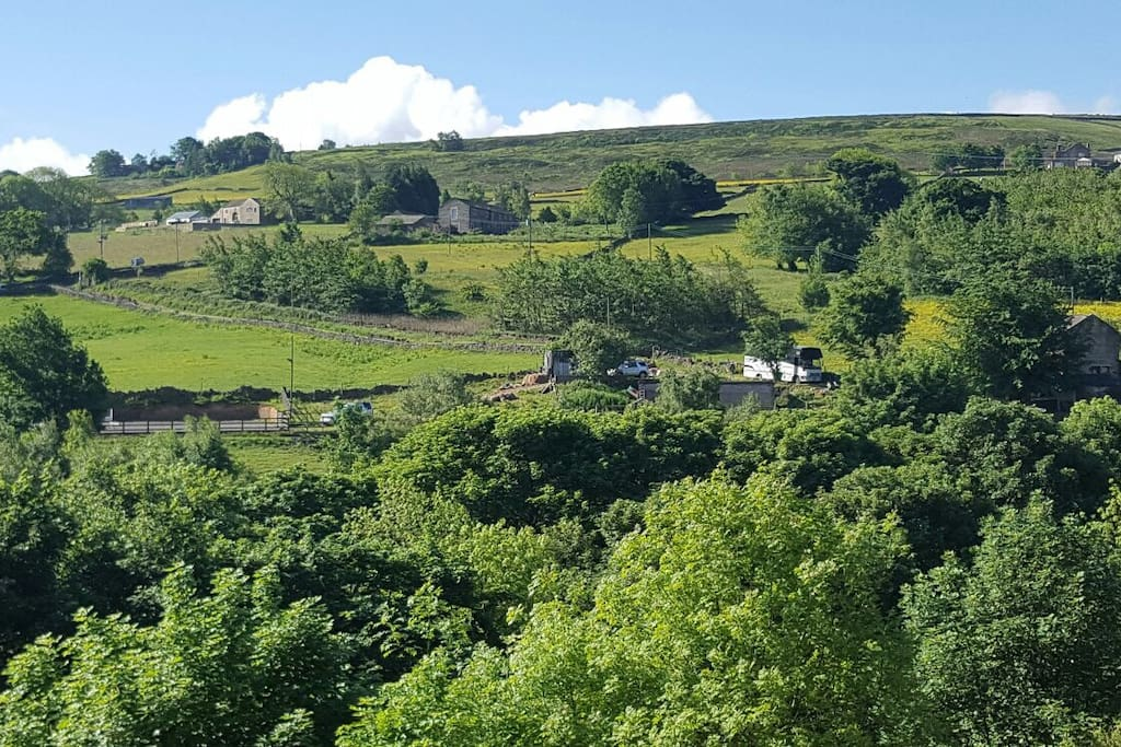 With stunning views, a perfect place for walking and taking it easy in the Holme and Colne valleys