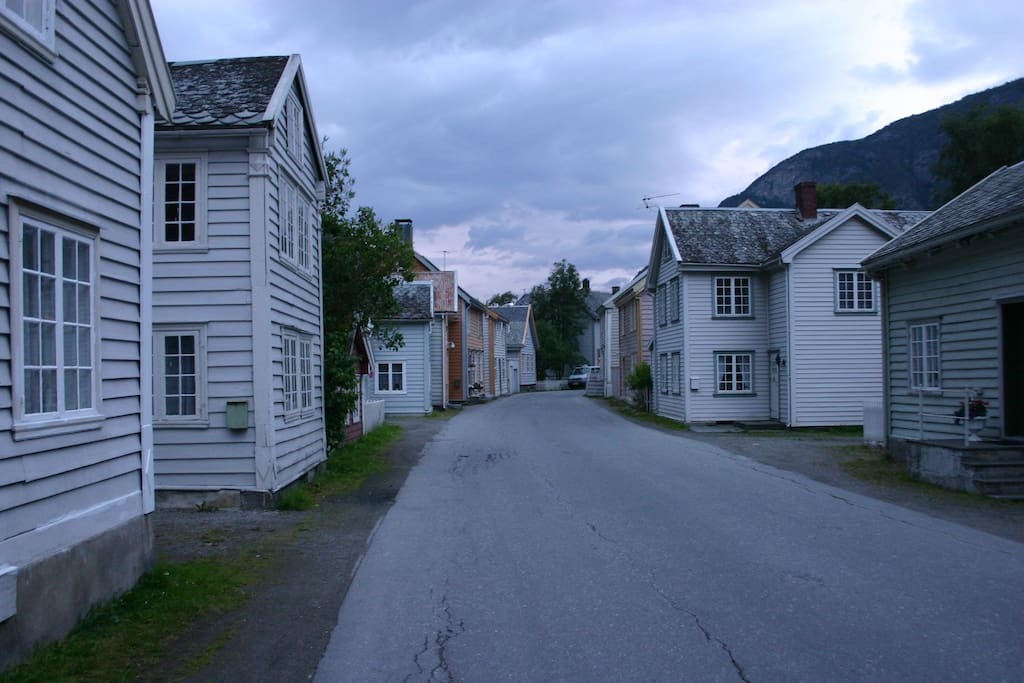 Our street...!
