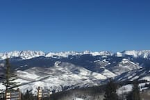 View from top of Beaver Creek