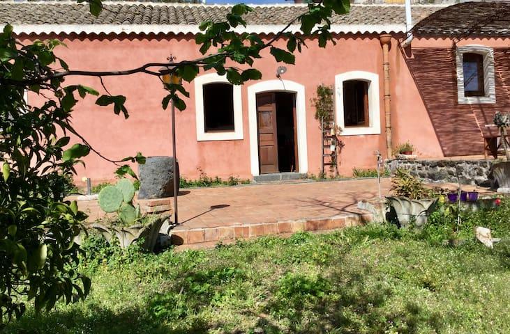 Ancient sicilian farm house - Santa Maria La Stella - Villa
