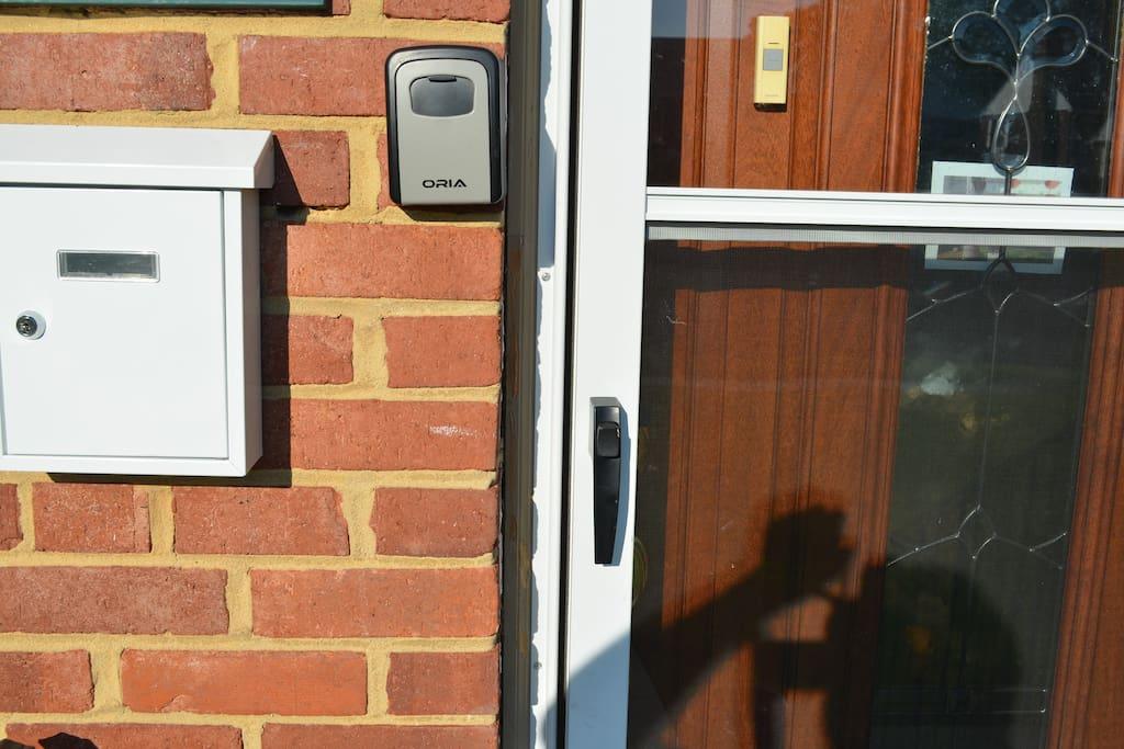 House entry Key vault