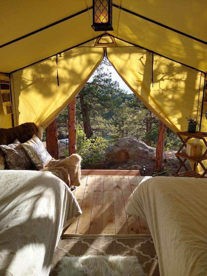 Rustic Luxury Camping @ Up The Hill Ranch