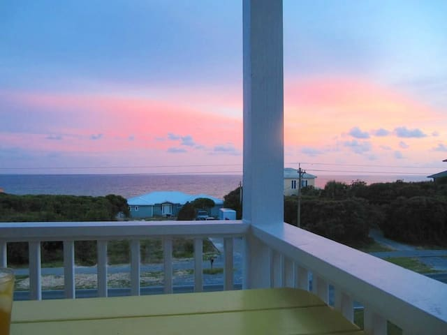 Porches w/ Gulf Views! Steps to Beach! - Sunset Watch at 30A