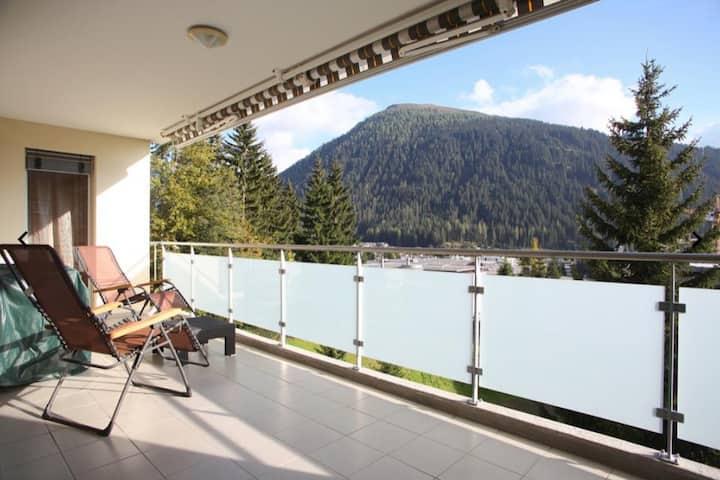 Aussergewöhnliche Wohnung im Herzen von Davos
