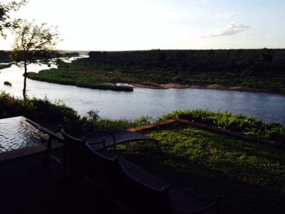 Amazing views over the Crocodile river