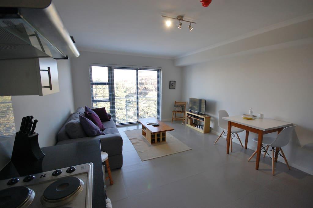 Open plan Lounge/Kitchen area 2.