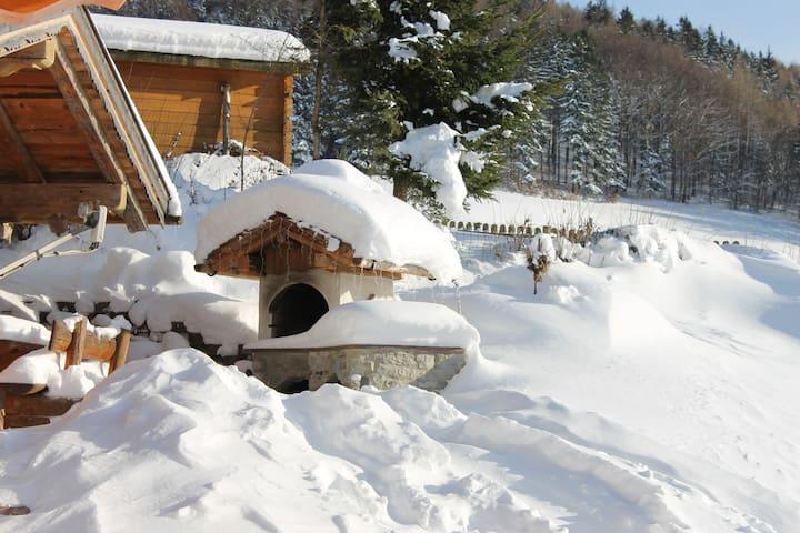 Winterferien: Ferienwohnung Untersbergblick 30m² - Puch bei Hallein - Hus