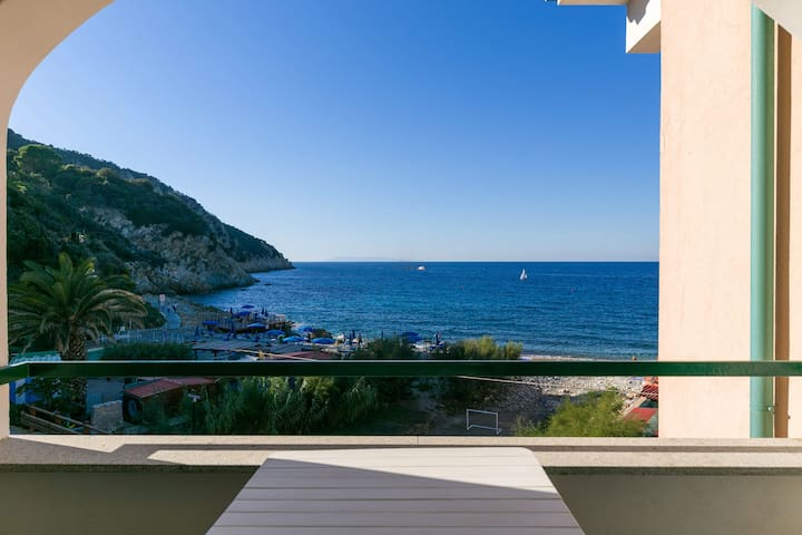 Terrace with fantastic sea view - Apartment Gianna
