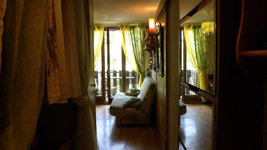 Joli Studio avec Balcon à Montclar - Montclar - Apartment