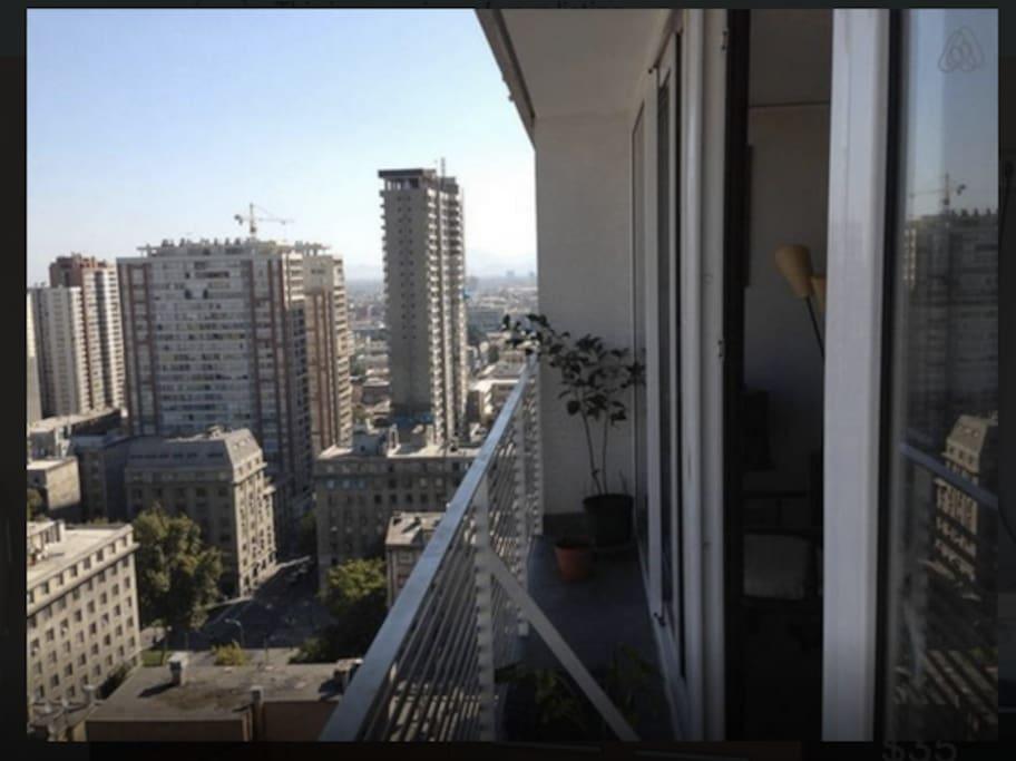 Balcón para observar