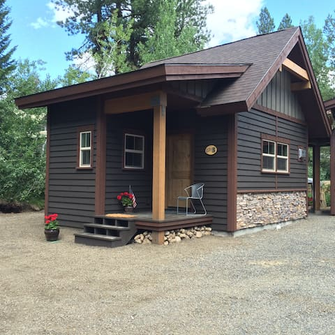 Secluded Cabin Near Downtown McCall, Idaho.