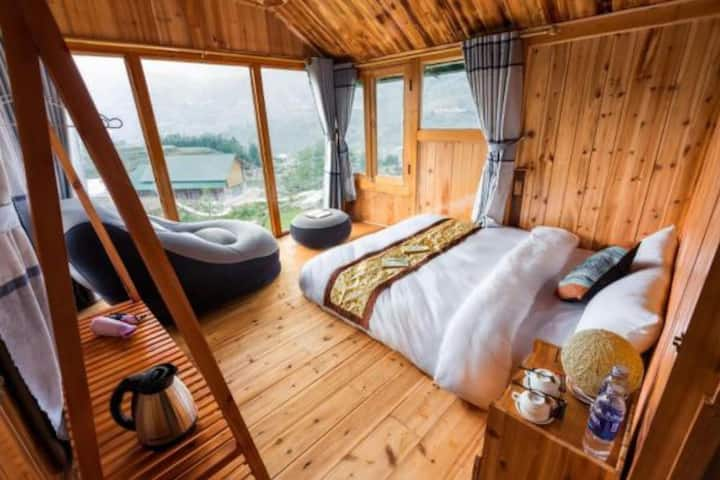 Three-Bedrooms Chalet - Sapa Eco Hugo Homestay