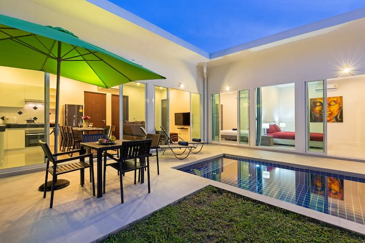 2019 NEW Boutique Private Pool Villa, 3 bedrooms