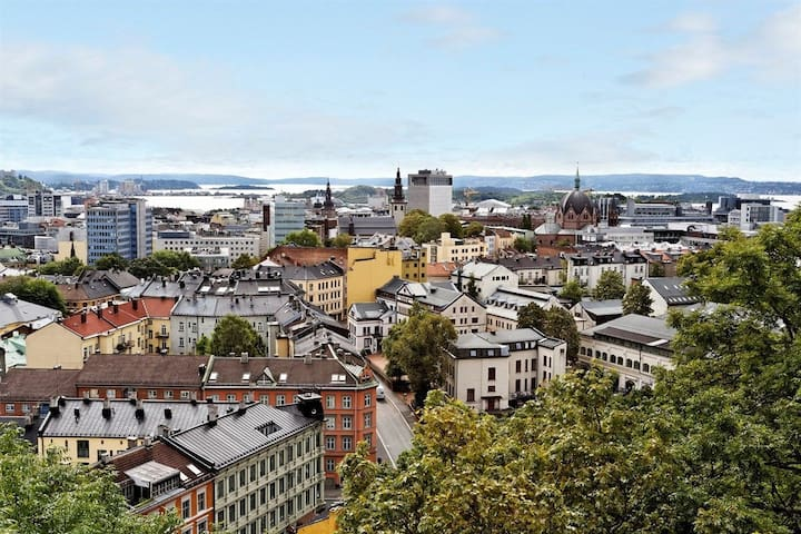 Peaceful gem in the heart of Oslo w/panorama view