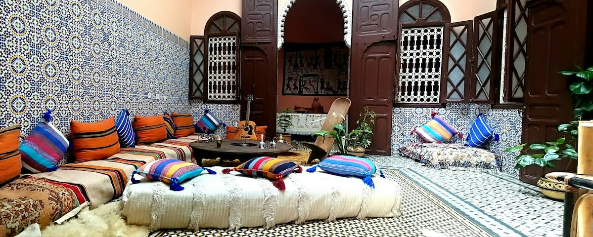 ⭐️ Coastal riad , Free parking , Rabat by bike