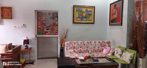 Cheerfull residential home @Bukit Nusa Indah Palembang