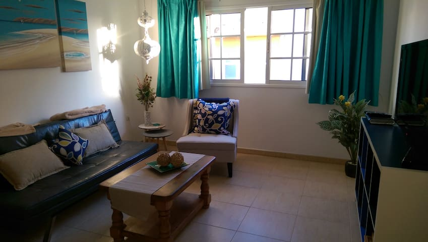 Apt El Cotillo, comfortable and close to beaches