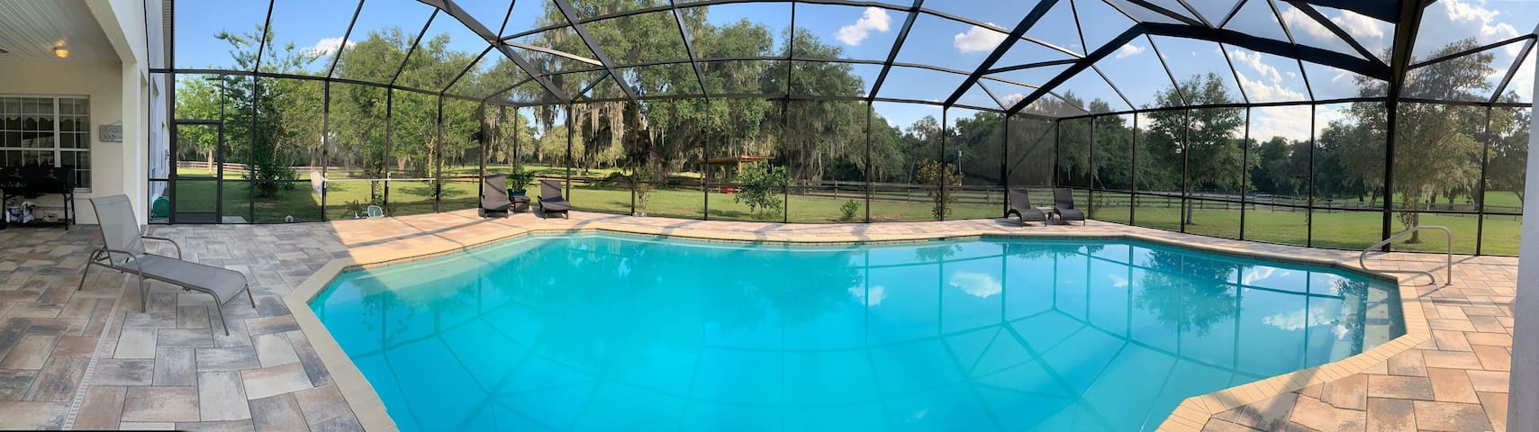 Click on the pic . 20' by 40' pool