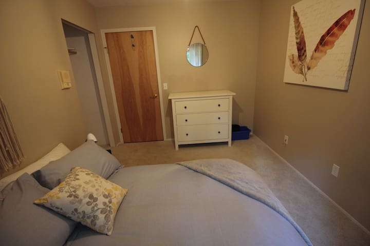 Third bedroom with a double bed