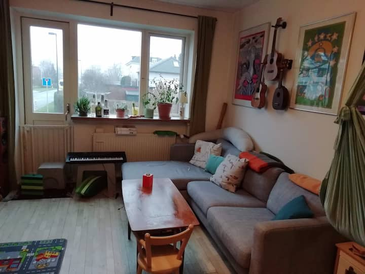 Cosy apartment near Copenhagen and Utterslev lake