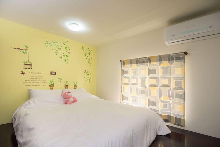 近台中高鐵. 民宿整層公寓適合家庭輕旅行 享有整套房源。客餐廳可使用  /附停車位/適合開車旅行