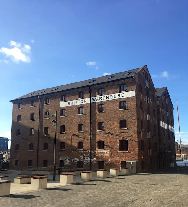 View of the Biddle & Shipton Warehouse