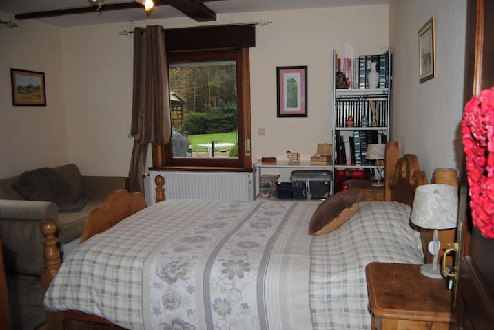 Double bedroom with ensuite - Jurbise - Bed & Breakfast