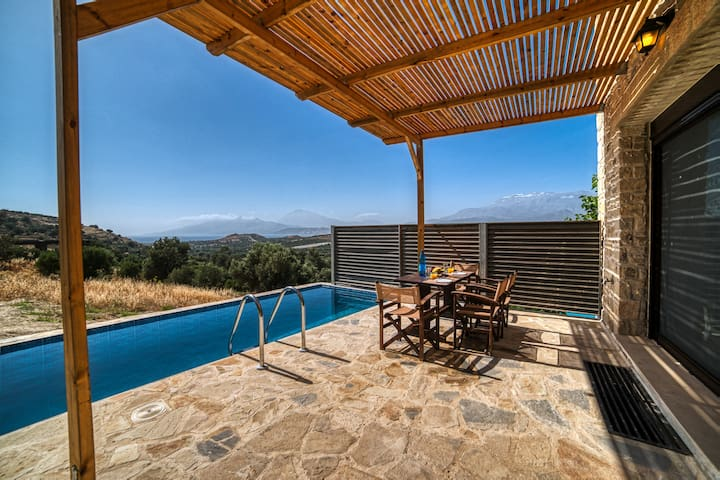 Luxury villa Omicron with sea view private pool