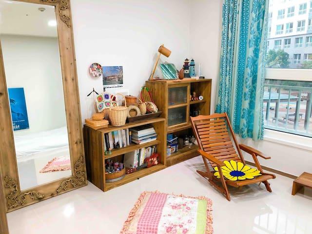 (1) My single room