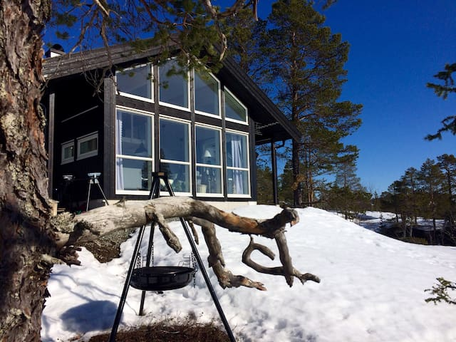 New cabin with great view, Selbu - Fossan - Kulübe
