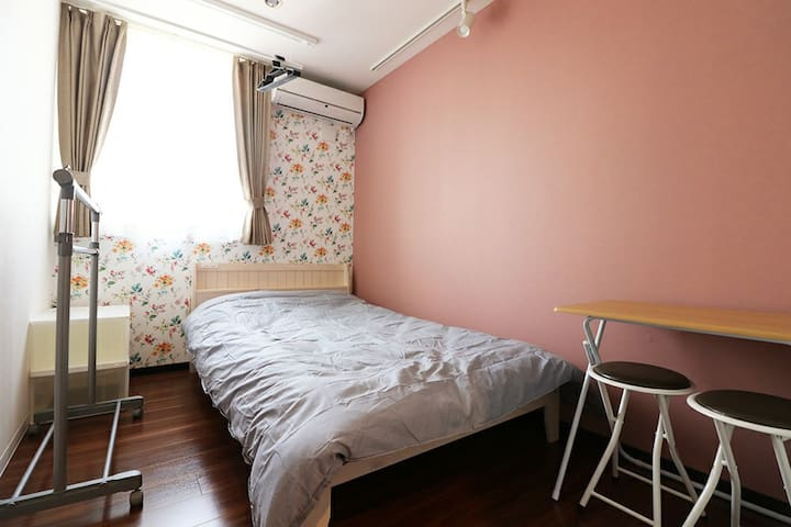 Semi-double bed♪7min to Station☆G70-3