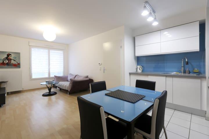 Appart cosy 12 min PARIS La DEFENSE - Bezons - Apartment