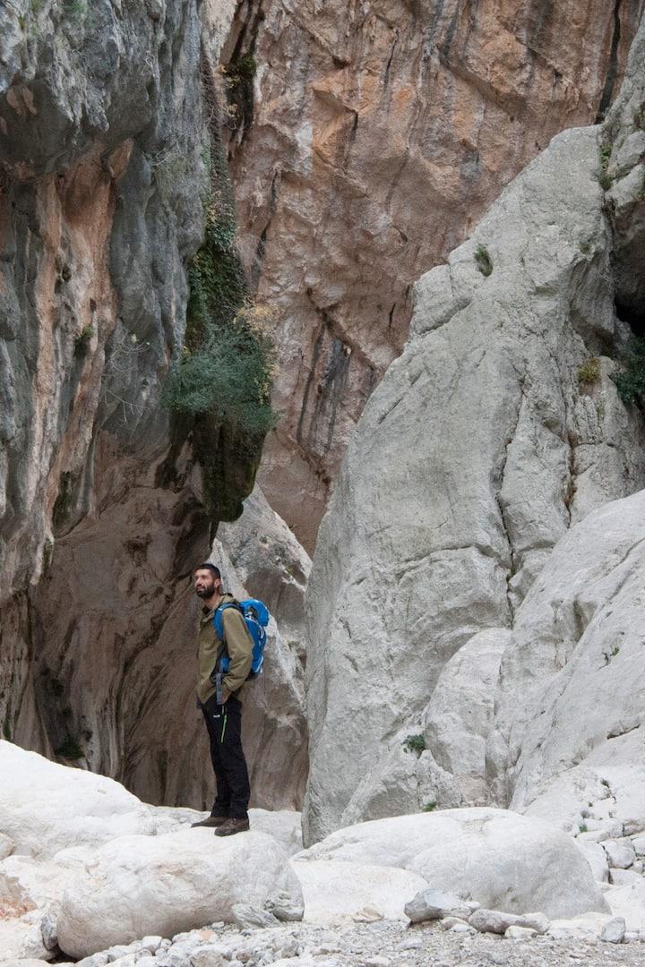 Interno del Canyon di Su Gorropu