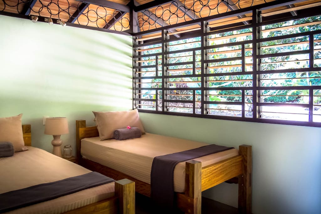 Twin/King Bedroom (mosquito nets provided)