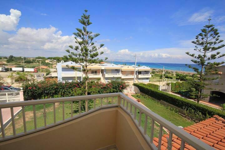 San Lorenzo Agua Beach Villa Girasole Vista Mare