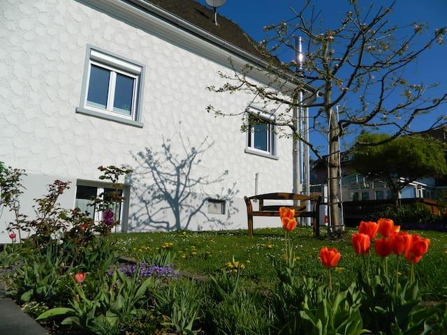 Ruhiges Ferienhaus zwischen Bodensee und Mindelsee - Radolfzell am Bodensee - Ev